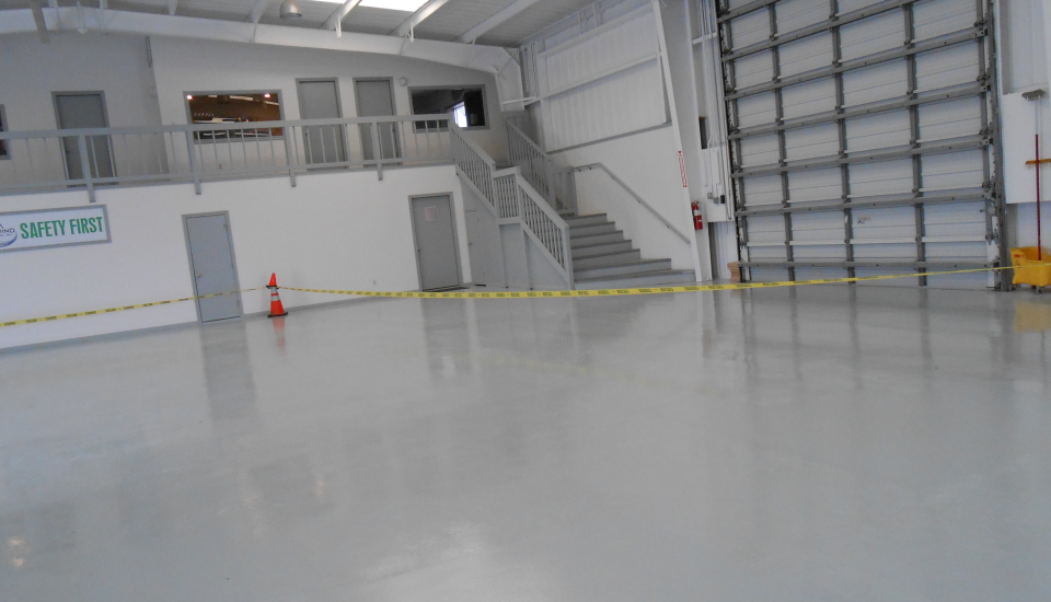 Industrial Flooring Painting