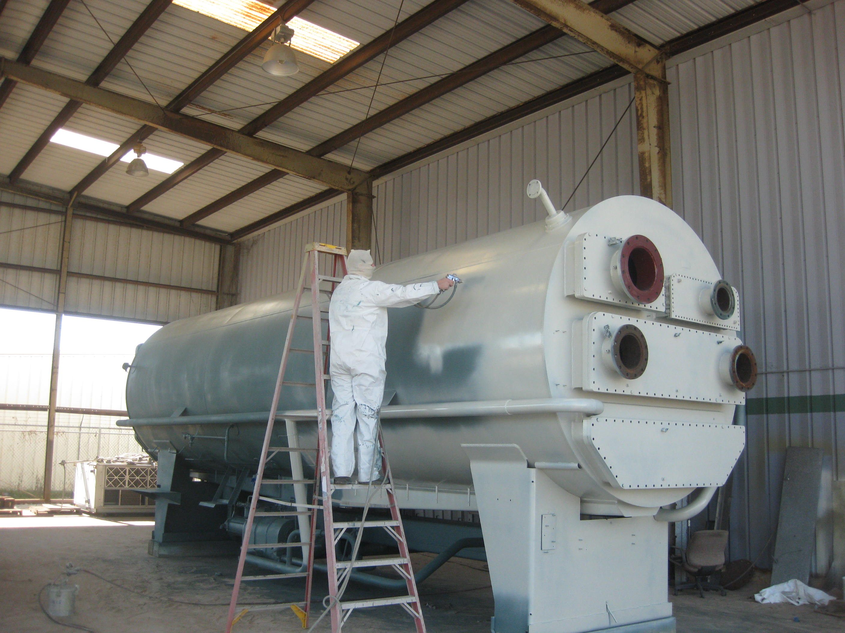 Industrial Sandblasting and Painting