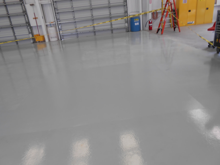 Houston Commercial Industrial Flooring Painting
