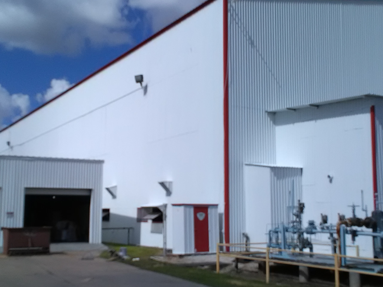 Primed And Painted With Direct To Metal Paint Commercial Painting Houston